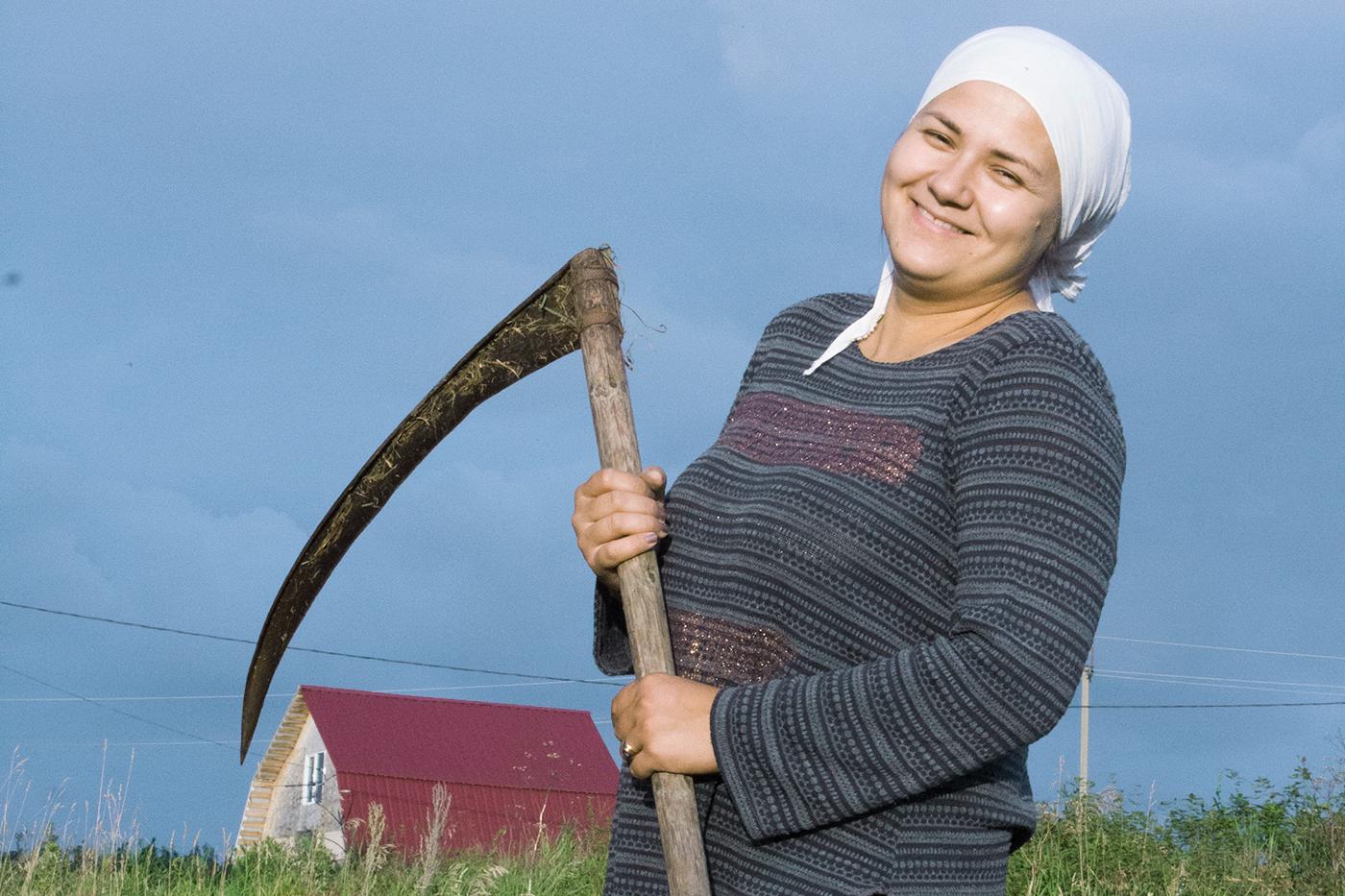 «Все думают, что фермер — это мужик на тракторе. А я девушка на ГАЗели». История фермера Ольги Мищихиной